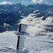 Durch den Wind gekämmt - Giüfelsignal über dem Glarnerland