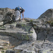 NW-Grat beim Gross Seehorn