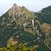 Gipfelaufbau des Aggenstein von Süden