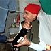 Il <b>sommelier</b> illustra la scelta dei vini