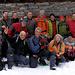 La foto di gruppo: Paolo, Angelo, Gimmy, Roberto, Fausto, Francesco, Giorgio, Alberto, Paolo, Gabri, Suni, Ewa, Ivan