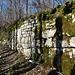 Mauer der Ruine Alt Lägeren