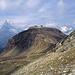 Bergstation Unterrothorn, halblinks im Hintergrund das Matterhorn.<br />Verdeckt das Furggji.