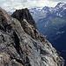 Blauspitz Gipfel mit Gipfelkreuz