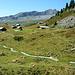 Die Scharmad Alpe erhält sogar einen gepflasterten Bergweg - nobel geht die Welt zu Grunde.