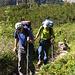 im Aufstieg zur Kröntenhütte