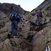 Felspassagen im Aufstieg zum Graw Stock