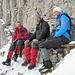 .. auf dem Südwand-Bänkli (des Ski-Clubs Olten) gemütlich zu rasten