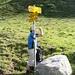 Abzweigung Weg Richtung Val Gröss