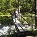 Holzbrücke über den Jochbach