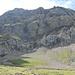 Hahnenschrittthorn Nordflanke - unser Ziel