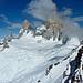 Elektrisiert auf dem Cerro Electrico! Weiter gehts durch den Gletscherabbruch unter den Fuss des Fitz Roys.