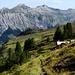 Vue de la Fisialp vers Bire, Zallershorn et Dündenhorn