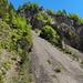 Abstieg durch den Lammbachgraben