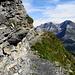 Gsürweg, vue sur le massif du Lohner
