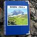 Ein schönes Gipfelbuch. Kompliment dem Erbringer