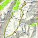 <b>Tracciato GPS Piz Val Gronda.</b>
