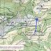 Besser bei Pt. 1237m runterfahren (Blau) Statt unserem GPS Track folgen (Grau)