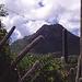durch Kakteenwälder zum Berg,der trotz geringer Höhe imposant erscheint,fast wie ein Gipfel in den Südalpen