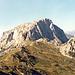 Ansicht des Trogkofels vom Rudnigsattel (von Südosten)