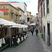 Rua de Santa Maria - eine Vergnügungsstraße mit vielen kleinen Lokalen und künstlerisch gestalteten Haustüren