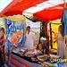 Marktbesuch in Cilaos - am Stand von Händlern aus Madagaskar