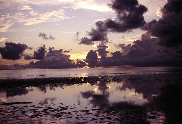 ausserordentlich beeindruckende Wolkengebilde