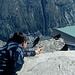 Am Gipfel des Klein Allalin (September 1996)