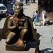 Statue auf dem Durbar Square
