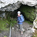 Eingang zu den Grottes de Naye
