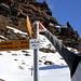 Bivio a Stou di Sotto, noi deviamo a sinistra (verso nord) direzione Alpe Vignone