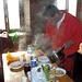 Grande BARBA !!! un pranzo da Chef a 2270mt di quota ... non è certo roba di tutti i giorni !