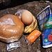 vegetarisches Lunch-Paket