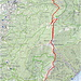 Wegführung, leider lässt sich das Höhenprofil nicht erstellen, da ein Teil des Weges auf italienischem Gebiet liegt und da ist map.wanderland.ch nicht mit dem italienischen Infosystem kompatibel.