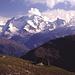 Castor,Pollux,Breithorn und Klein Matterhorn