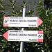 Welcher ist die richtige Richtung??