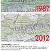 Unser Problem: Unterwegs mit altem Beschrieb und neuer Karte. Auf der 1987er Karte gibt es den Punkt Latterbachflue noch, auf der neuen nicht…