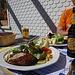 ...wir im Schwarzenbach ein feines Mittagessen geniessen...das war wieder eine fantastische Tour!