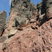 Türme und bunter Fels