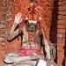 Ein Sadhu – er freut sich, wenn man ihn fotografiert (kleines Trinkgeld; vorher aushandeln!)