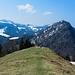 Gipfelpunkt an der Prodelalpe