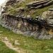 Gletscherschliff vom feinsten ... sogenannter Feinschliff.