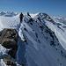 Gipfelgrat zum Gsür