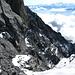 Exponierte Südwand des Grand Muveran 3051m