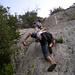 Wieder mal Klettern – und wie! Der geneigte Beobachter wird einige Missstände erkennen...