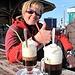 Endlich Entspannung...die Touristenströme sind weg und nun ein Kaffee-Amaretto geniessen :-), dies ist TOP!
