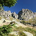 Aufstieg Richtung Cima d'Asta