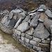 Unzählige Tonnen von Steinen. Alle kunstvoll mit eingemeiselten Schriftzeichen versehen.