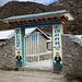 Eingang zur Hillary-Scool in Khumjung