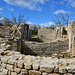 Die Ruine der mittelalterlichen Burgkirche